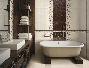 Сделайте правильный выбор керамической плитки в ванную комнату и каждое утро она будет вдохновлять вас на новые свершения.