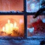 Оригинальное новогоднее украшение. Снежная сказка за вашим окном