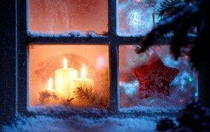 Оригинальное новогоднее украшение. Снежная сказка за вашим окном.