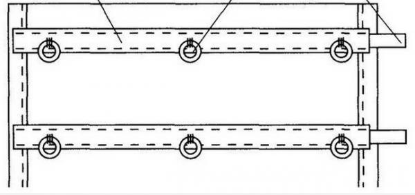 Рейки и кольца на шторе