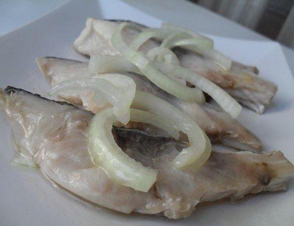 толстолобик маринованный как селёдка