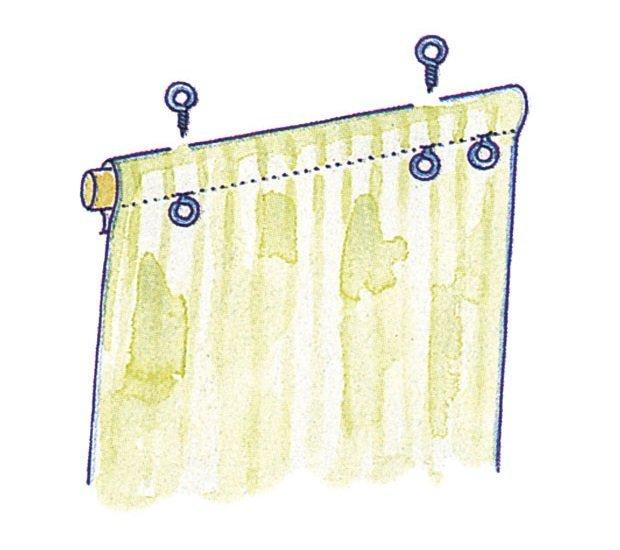 Римская штора на пластиковое окно своими руками