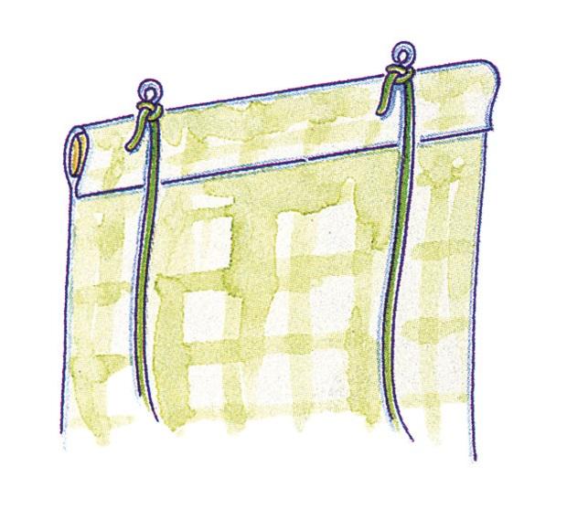 Как сделать рулонные шторы на окно 198