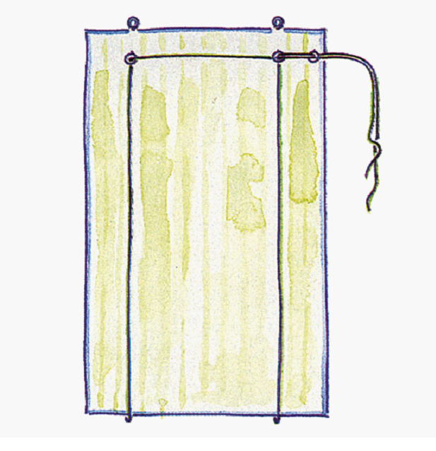 Рулонные жалюзи своими руками из ткани пошагово фото