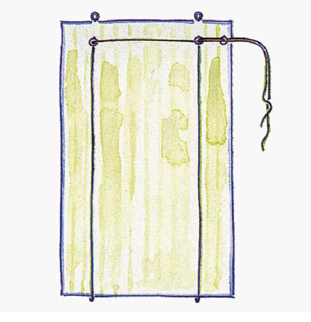 Как сшить  шторы жалюзи