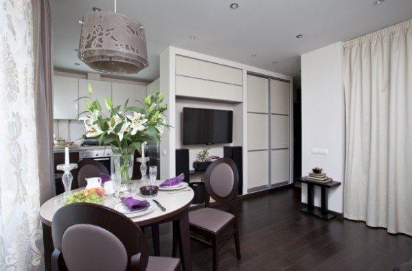Гостиная и спальня в одной комнате: как совместить, дизайн интерьера, идеи фото