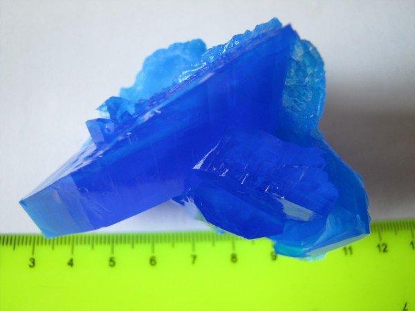 крупный кристалл купороса