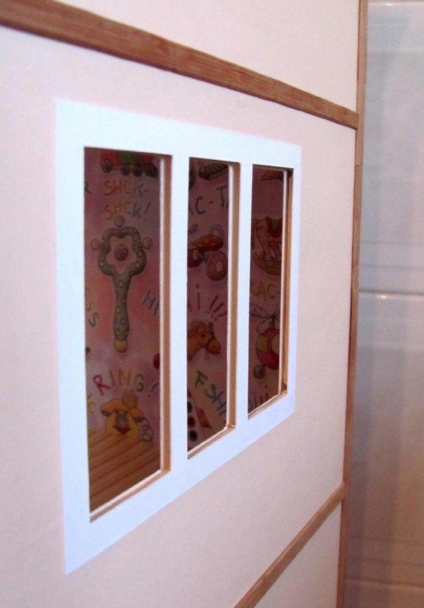 окна кукольного дома