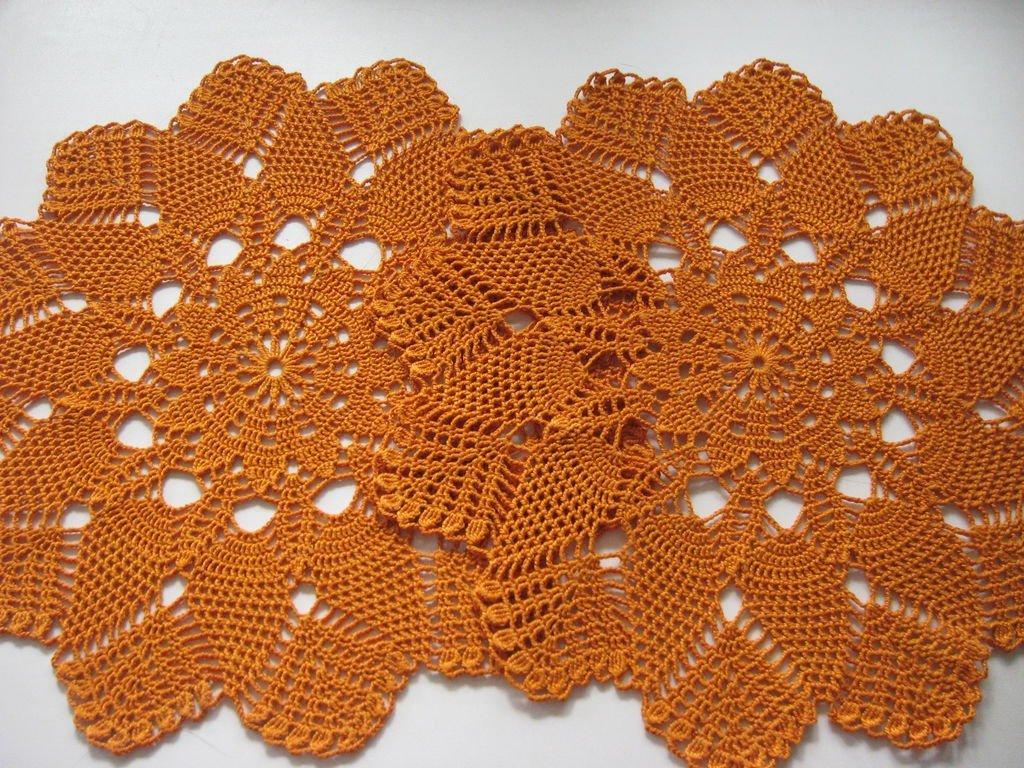 Технология вязания салфеток