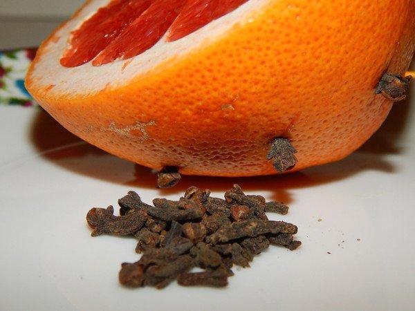 Апельсин и гвоздика