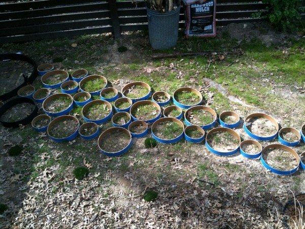 круглые формы для плитки из пластика