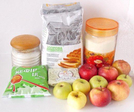 Набор продуктов для манника