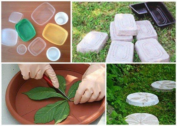 пластиковые формы из подручных средств