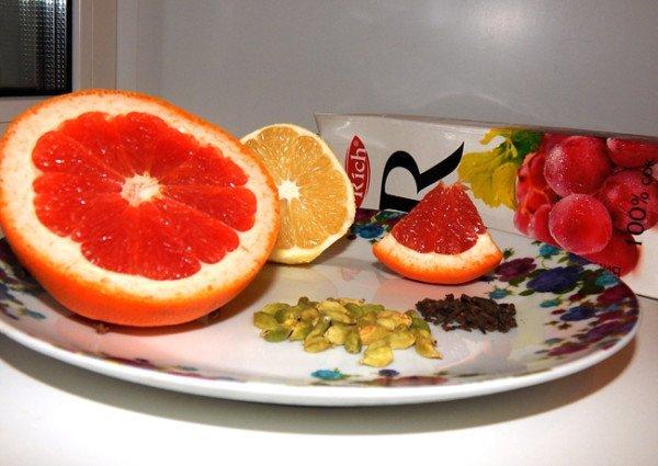 Сок и цитрусовые