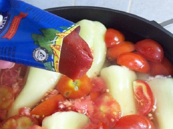 Перец запеченный в духовке