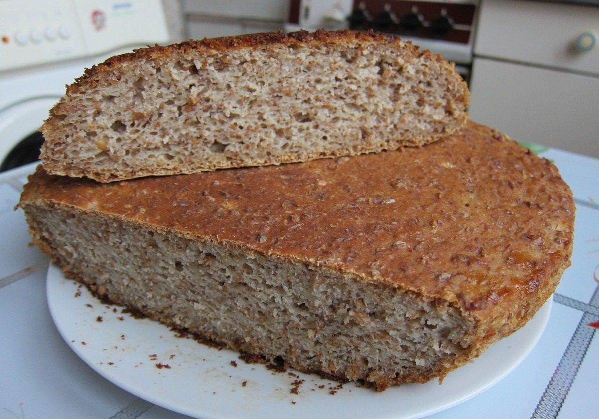 Рецепт заварного бездрожжевого хлеба