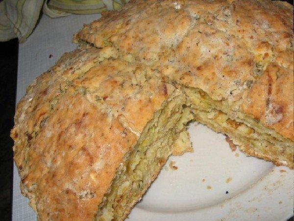 Хлеб бездрожжевой на молоке