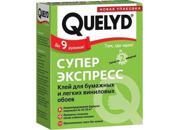 Клей для лёгких виниловых обоев Quelyd