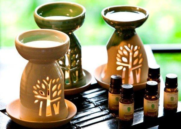 аромалампа и эфирные масла