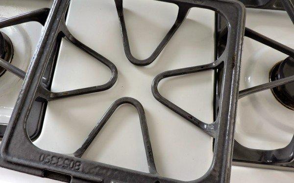 чугунная решётка для газовой плиты