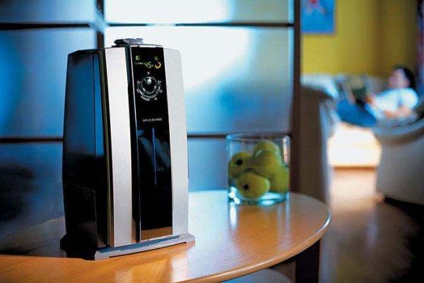 ионизатор воздуха в комнате