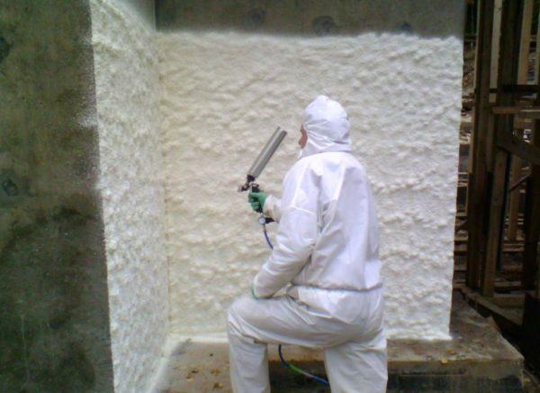 утепление наружных стен пенополиуретаном