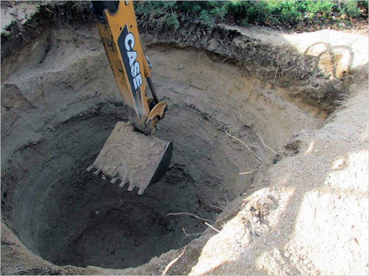 Копаем траншею под канализацию своими руками 54