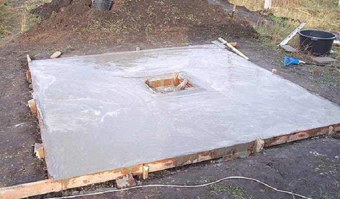 Как сделать бетонную крышку на канализацию