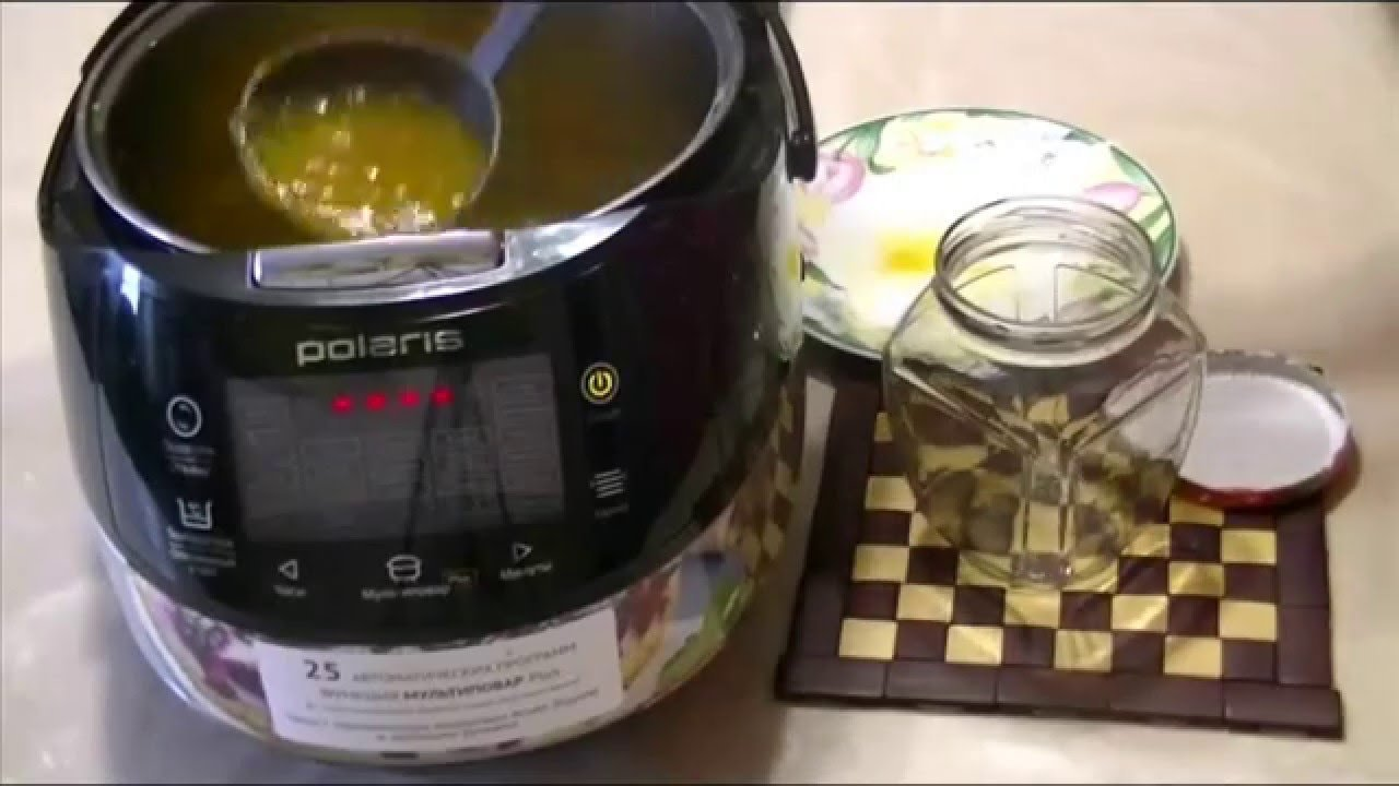 Рецепт варенье в мультиварке поларис