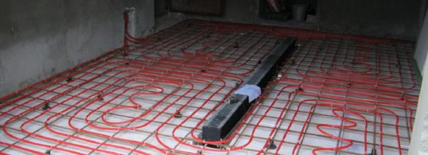 Тёплый пол в гараже