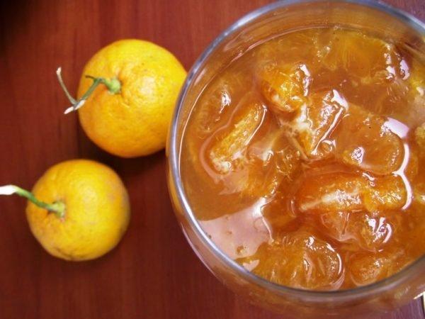 варенье и мандарины