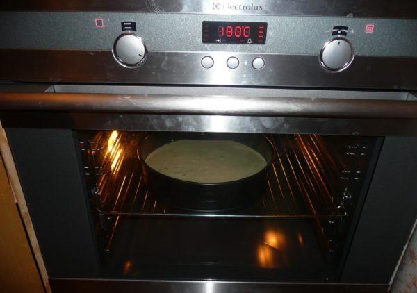 бисквит в духовке