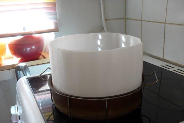 форма для выпечки с надставленными бортиками
