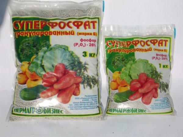 Пакет удобрения суперфосфат