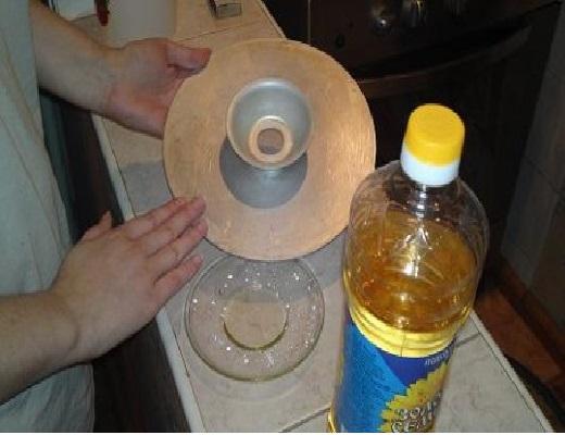 смазывание маслом мантоварки