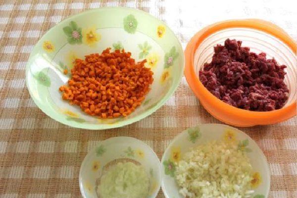продукты для начинки