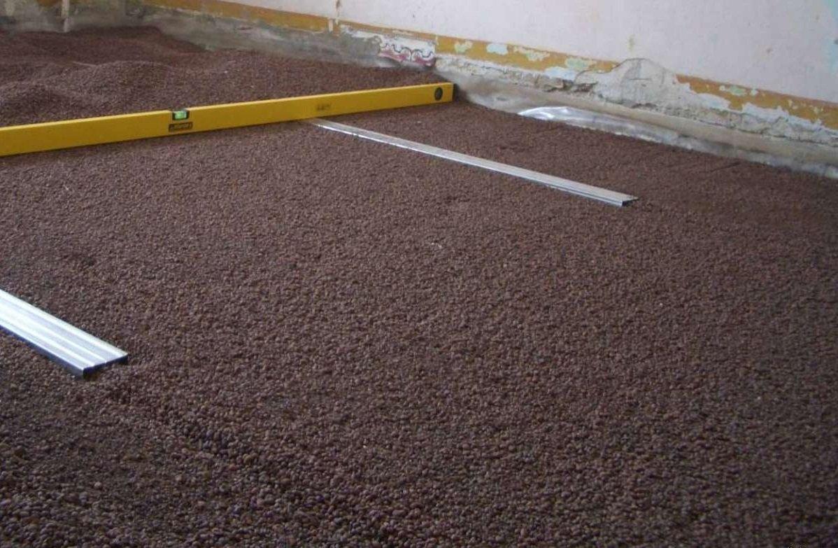 стоимость керамзита для сухой стяжки пола наносите спрей