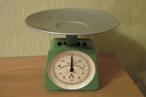 Механические настольные весы