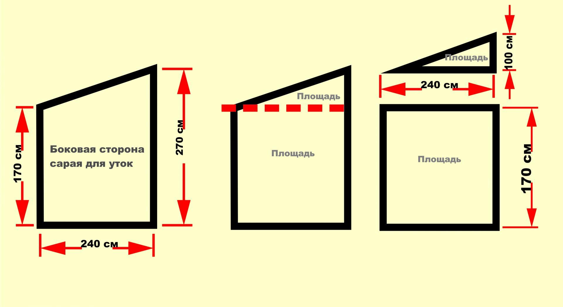 Красивый сарай на даче своими руками 3 х 6 с односкатной крышей чертеж 71