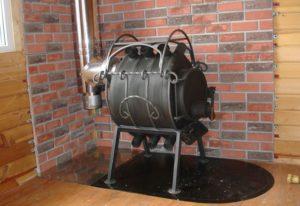 Самодельная печь булерьян