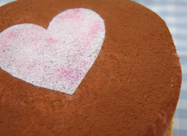 торт с какао