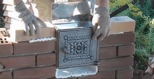 Устройство печей из кирпича