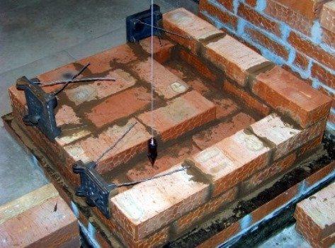 Этапы строительства кирпичной печи