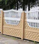 Комбинированый забор