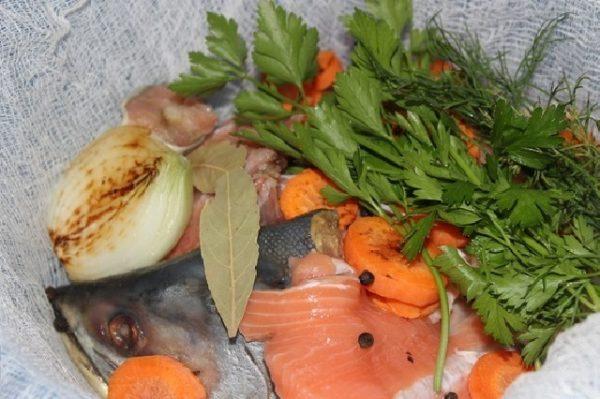 Овощи, зелень и приправы