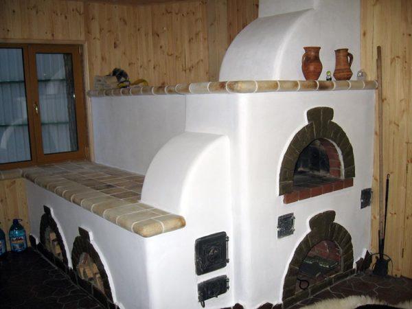Виды кирпичных печей