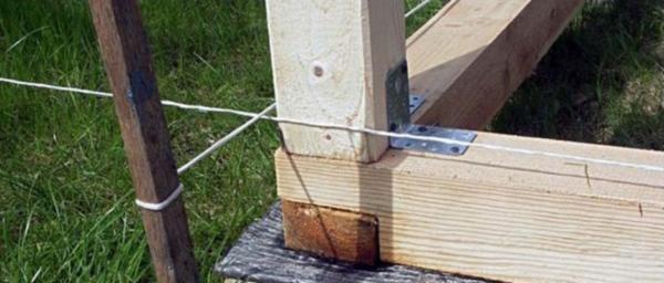 Укладка бруса на фундамент