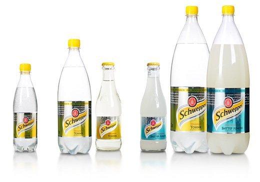 6 бутылок «Швепс»