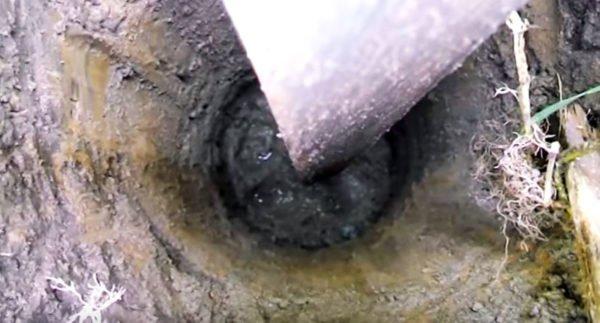 Глубинное бетонирование опор