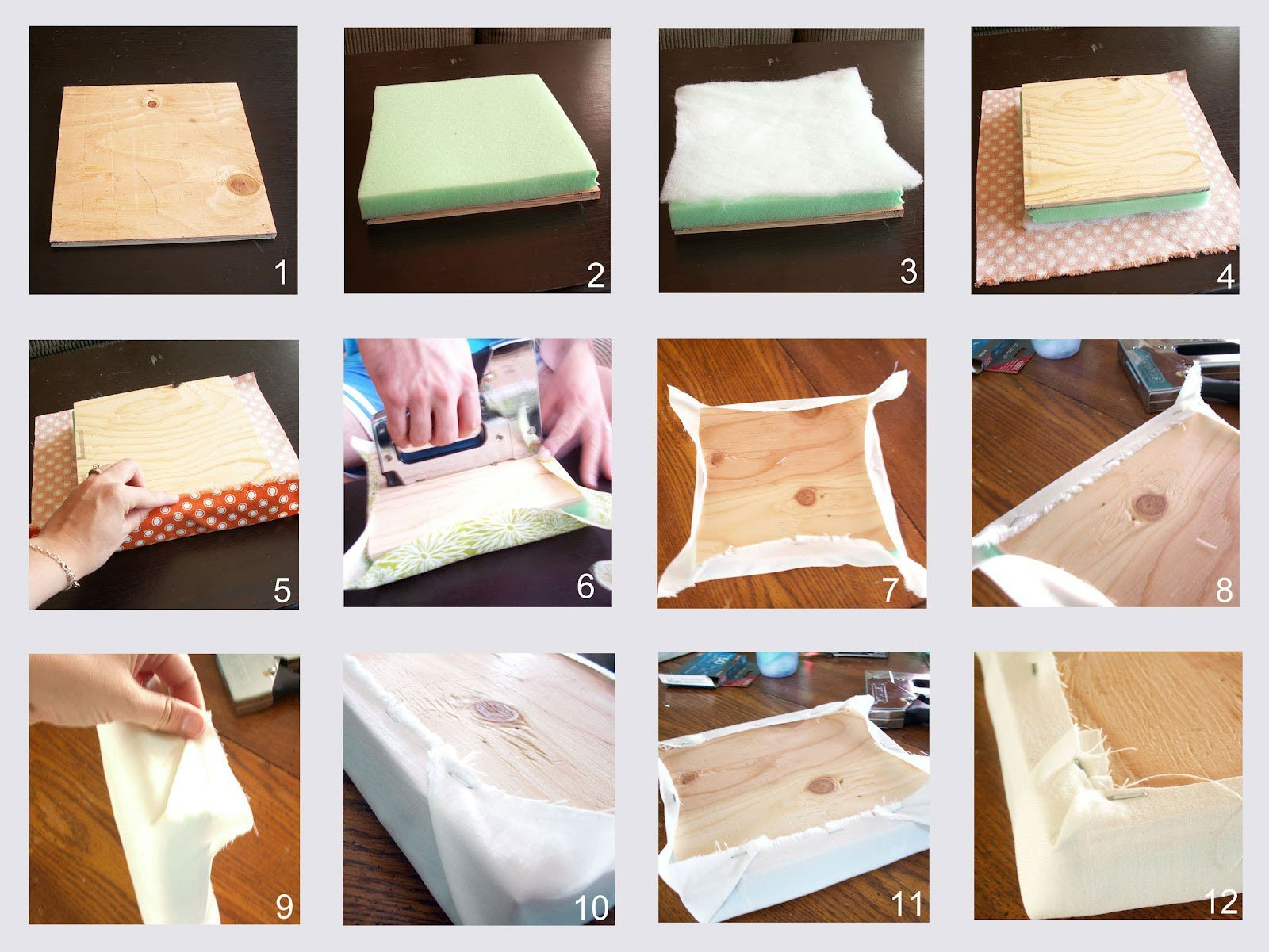 Как сделать спинку кровати мягкой своими 885